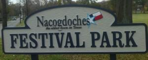 festival park sign